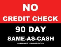 No Credit Check Mattress and Furniture Financing